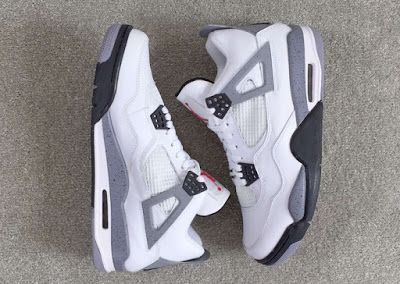 "EffortlesslyFly.com - Kicks x Clothes x Photos x FLY Sh*t: Release Reminder: Air Jordan 4 Retro ""White Cement..."