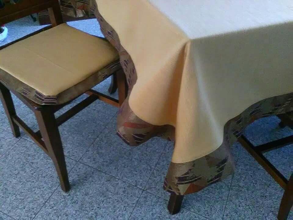 Copri Sedie ~ Copritavolo e copri sedie fatti da me per la mia casa cucito