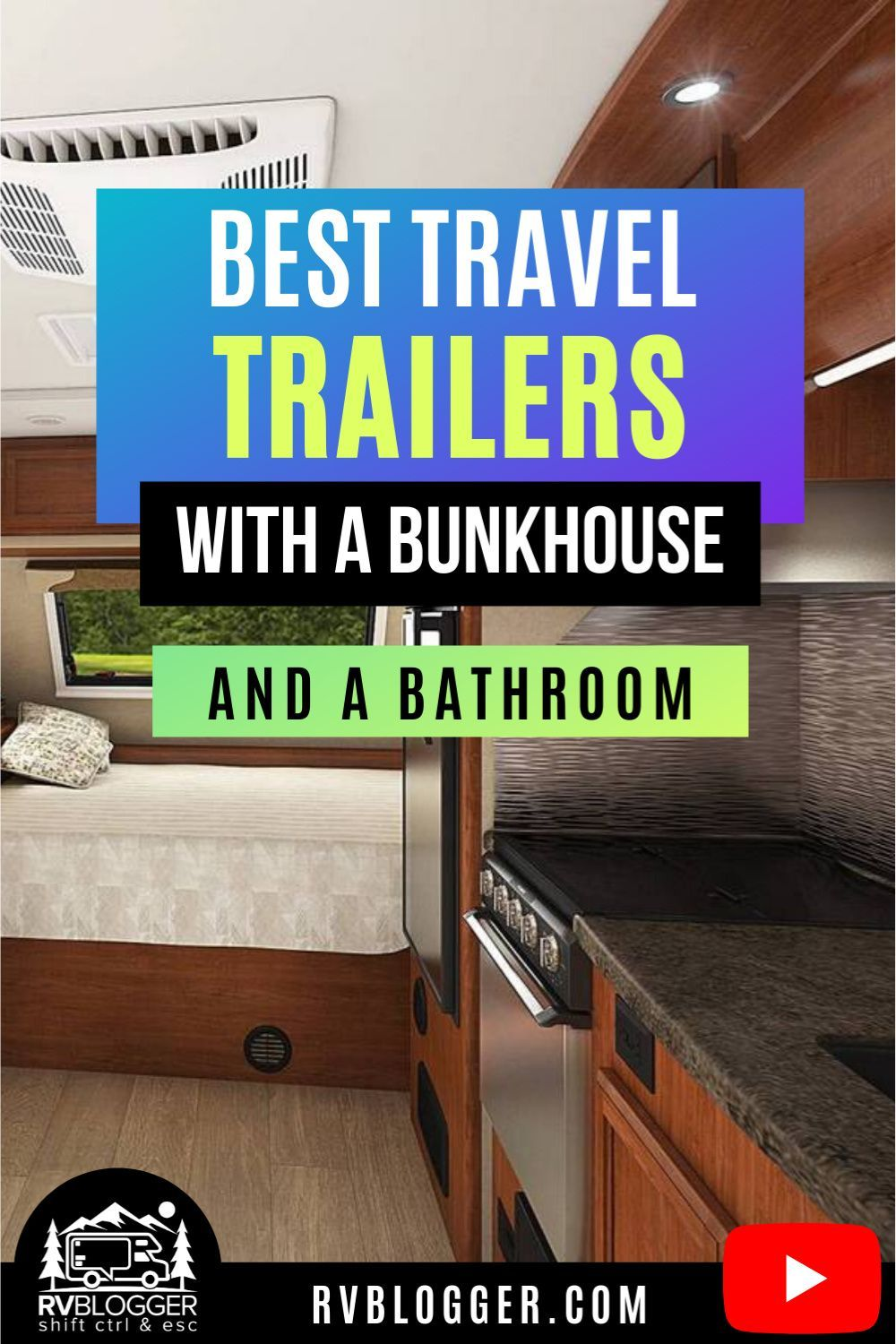Best Travel Trailers With a Bunkhouse! in 2020 Travel