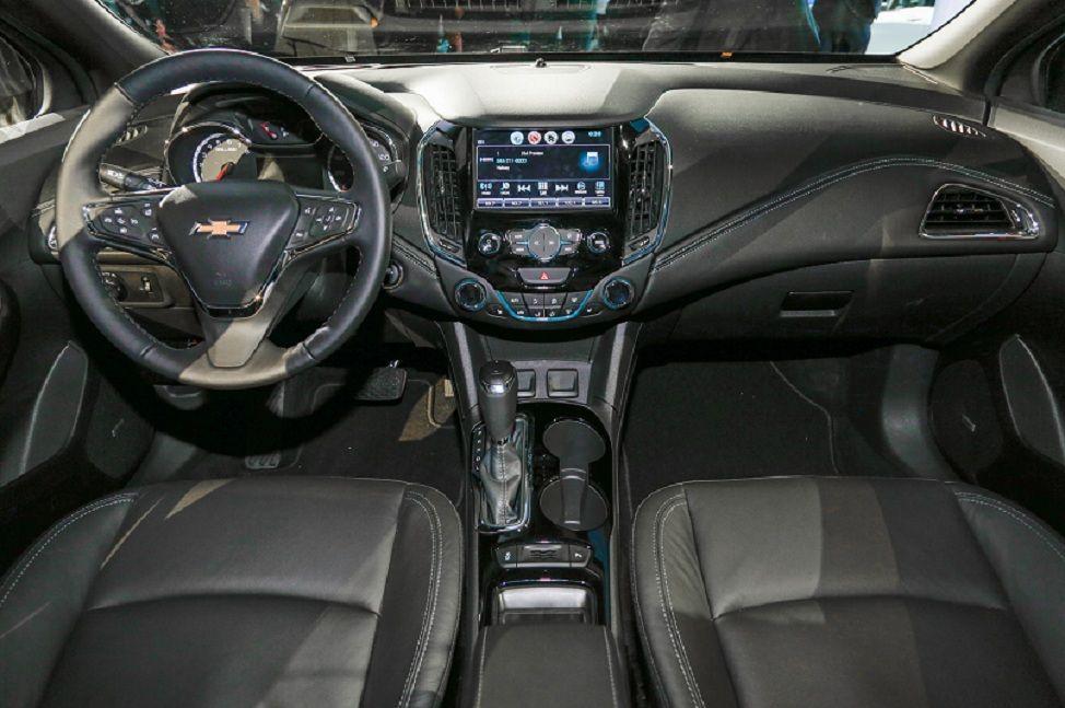 2017 Chevrolet Cruze Interior Dashboard