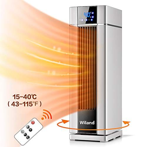 HeizungLCD Display Standheizung mit FernbedienungTimerSchnellheizer 2000 W Klimaanlage ...