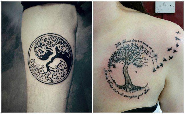 Tatuajes De Arbol De La Vida Para Hombres Tatuaje Arbol De La Vida Arbol De La Vida Tatuaje Arbol