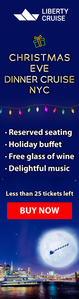 Nyc Christmas Day Brunch Cruises From 79 Enjoy Bottomless Mimosas