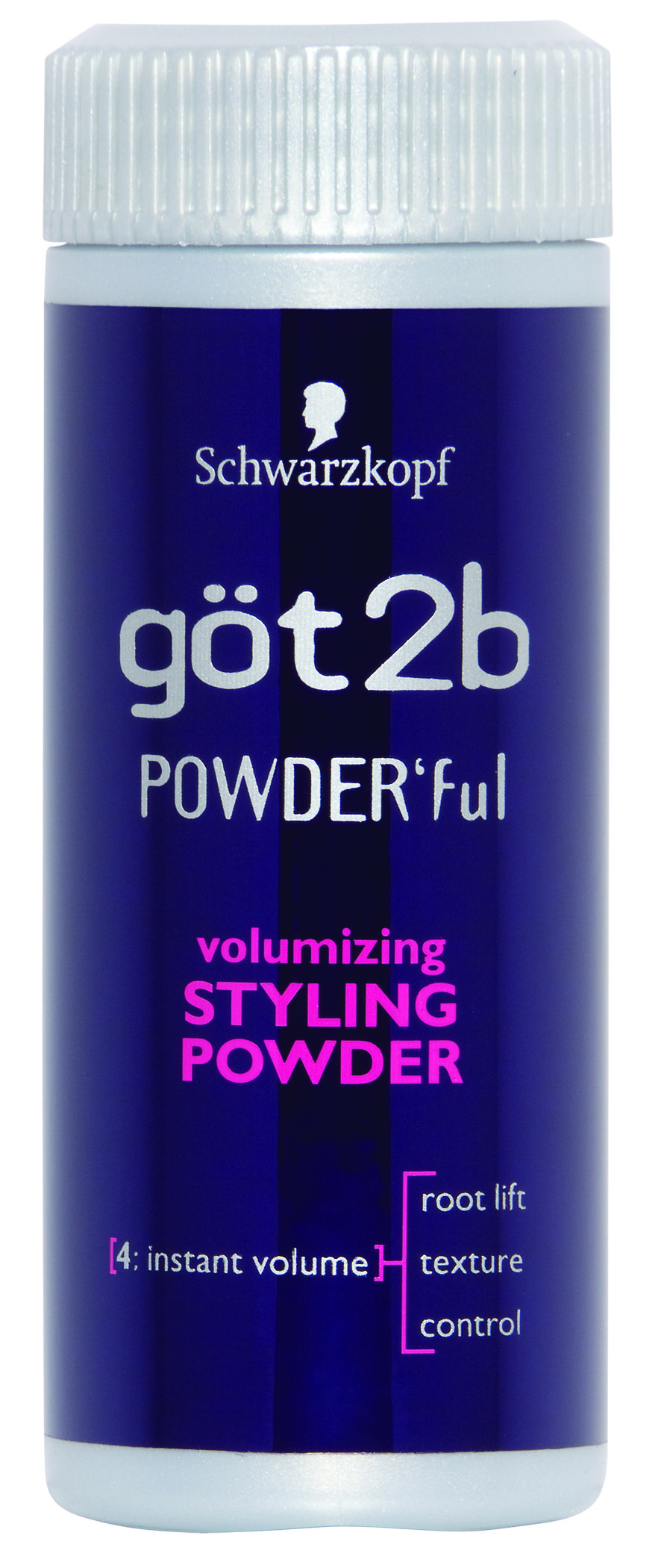 933ffbeca2 got2be Powder'ful volumizing powder. Put about a dime sized amount in the  palm of my hand, rub my hands together, rub my hands through my hair. Poof.