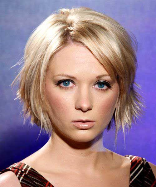 Simple Hairstyle For Thin Short Hair : Cute short messy bob hairstyle for thin hair styles art