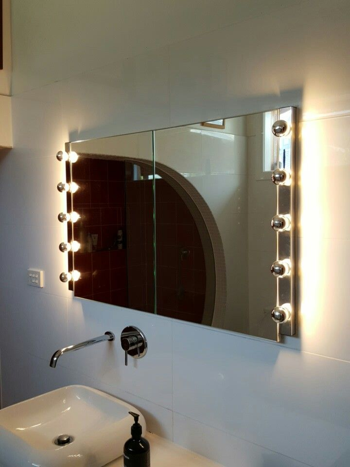 Mirror Lights By Vintage Led G45 3w, Light Bulbs For Bathroom Mirrors