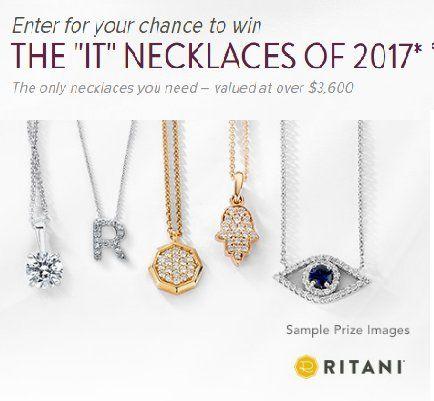 Win 5 Ritani Pendant Necklaces (@women_freebies)   Twitter