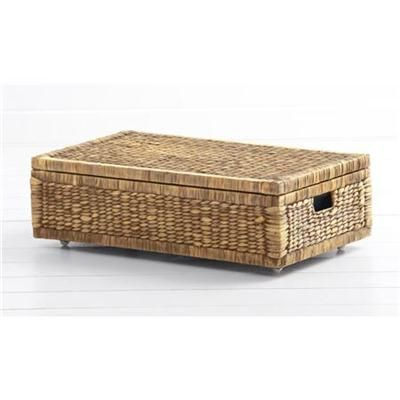 Under The Bed Storage On Wheels Impressive Underbed Storage Basket  On Mini Caster Wheels Cute Tiny Palace Decorating Inspiration