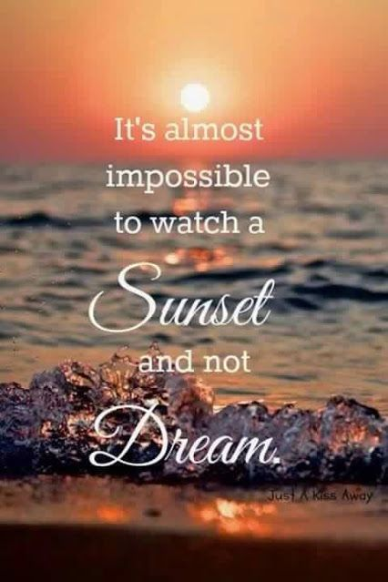 Image result for sunset than sunrise quote