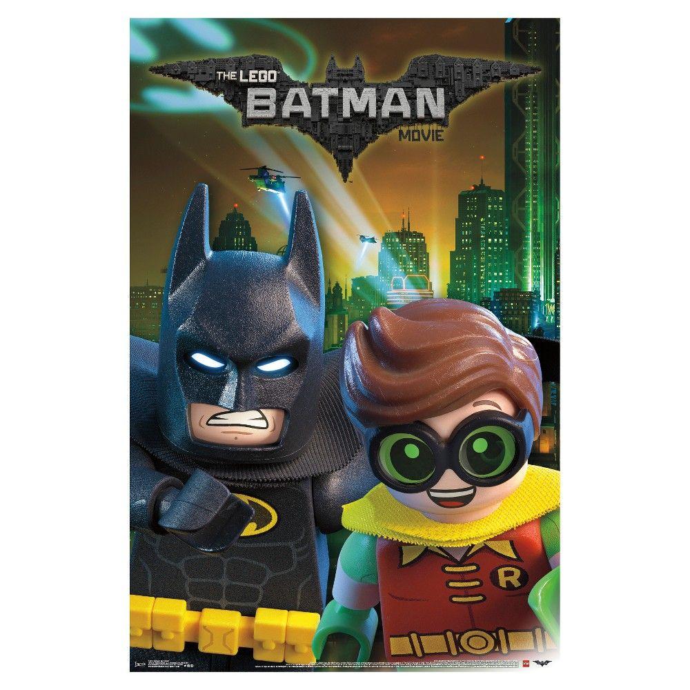 Lego Batman and Robin Poster 34x22 Trends International,