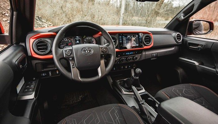 2019 toyota tacoma trd interior | Car New Trend ...