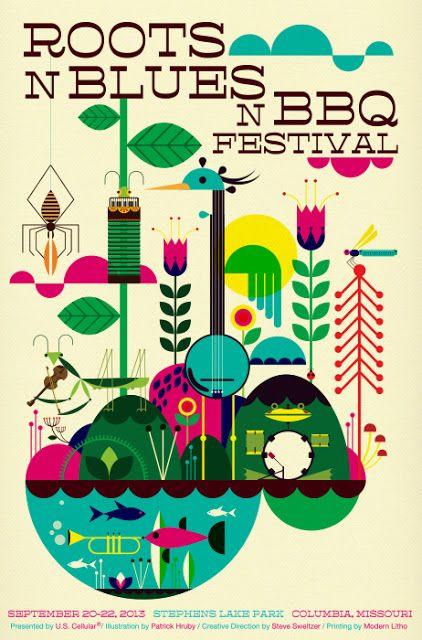 Draw Me Something: Roots N Blues N BBQ Festival