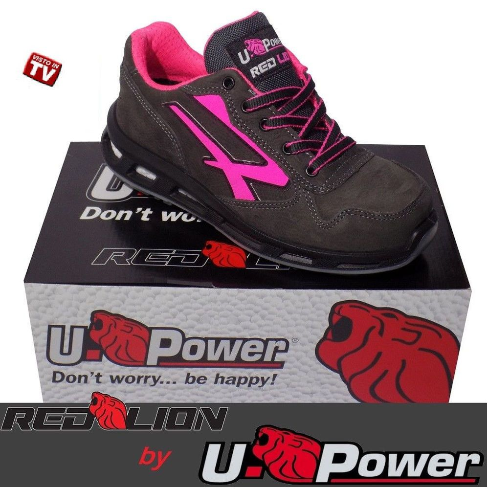 Scarpe Donna Antinfortunistica Basse U-POWER Red Lion CANDY S3 CI SRC dal 35 37fc8f9c0f2