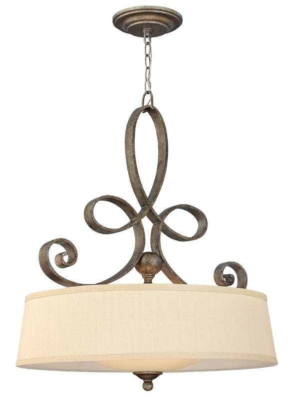 View the Fredrick Ramond FR42504 4 Light Large Pendant from the Monterey Collection at LightingDirect.com.