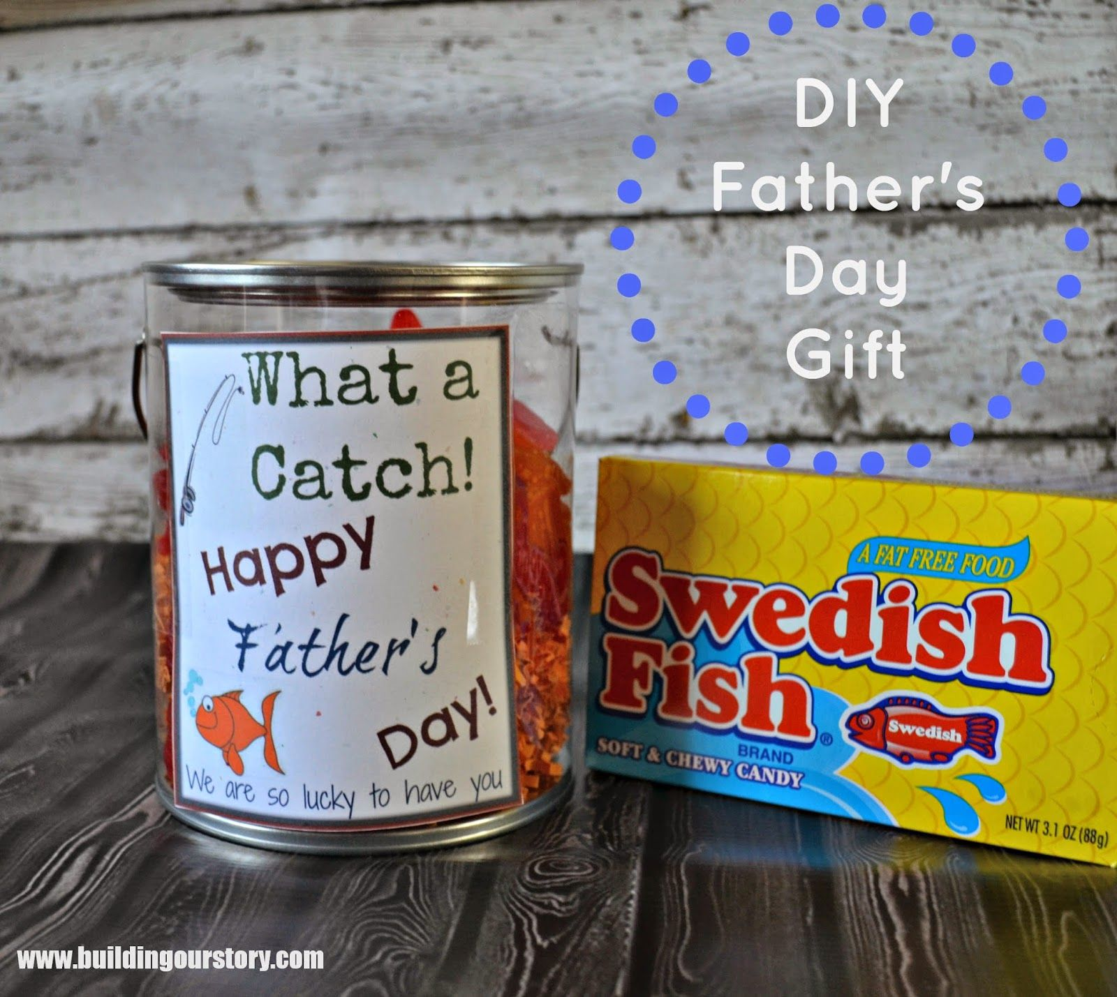DIY Father's Day Gift Idea and Free Printable | Free printable