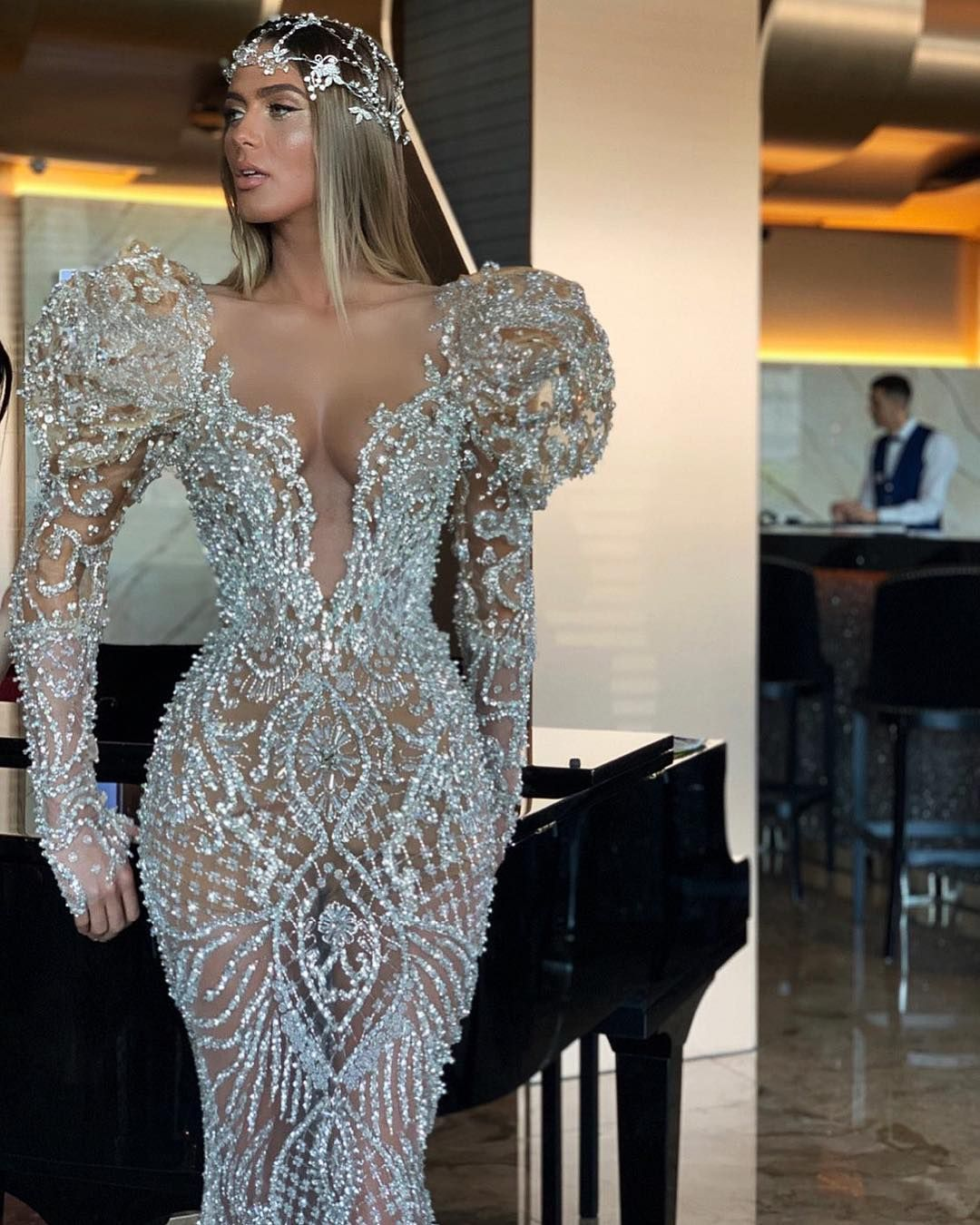 Photo of Silver dress