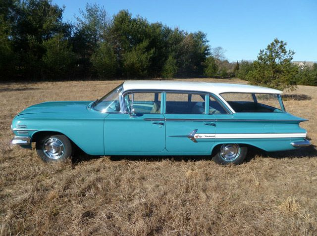 1960 chevrolet impala nomad classic station wagons. Black Bedroom Furniture Sets. Home Design Ideas