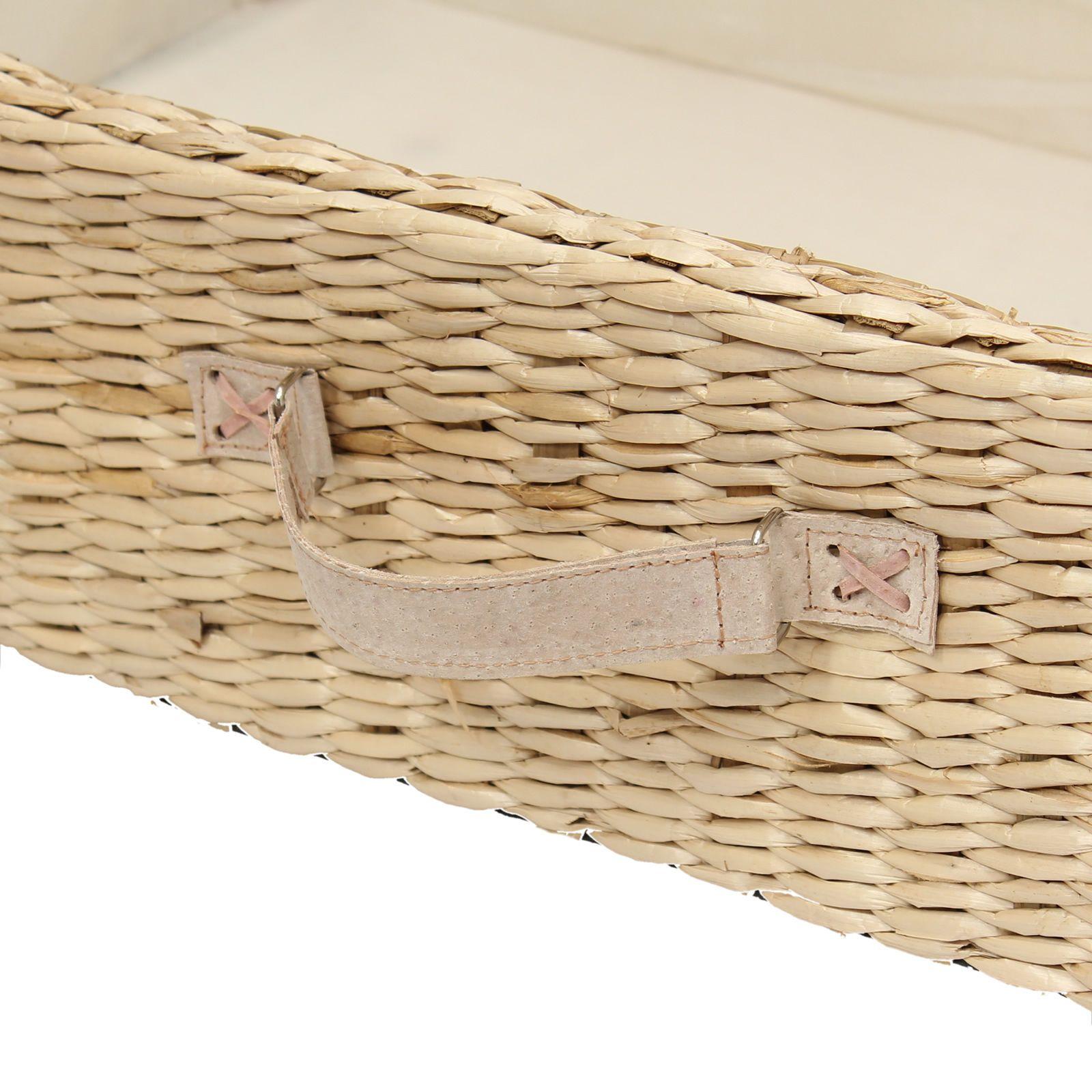 Home underbed storage baskets wicker underbed storage basket - Large Under Bed Storage Box Trunk Wheeled Underbed Shoe Bedding Blanket Chest Ebay