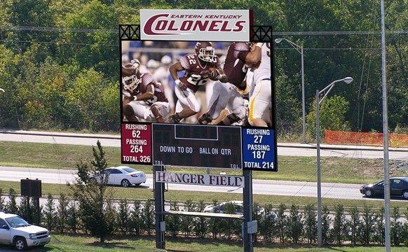 Roy Kidd Stadium And Alumni Coliseum Upgrade With New Daktronics Led Video Displays Eastern Kentucky University
