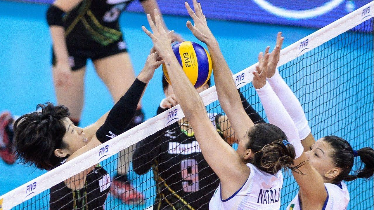 24 July 2015 Brazil Vs Japan 2015 Fivb Volleyball World Grand Prix Volleyball Grand Prix Japan