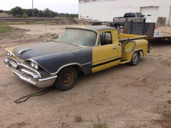 Craigslist Find A 1959 Dodge Coronet Camino Is It Wrong To Like