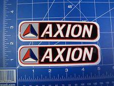 Vintage Rare 90 S Axion Skateboard Sticker Lot Of 2