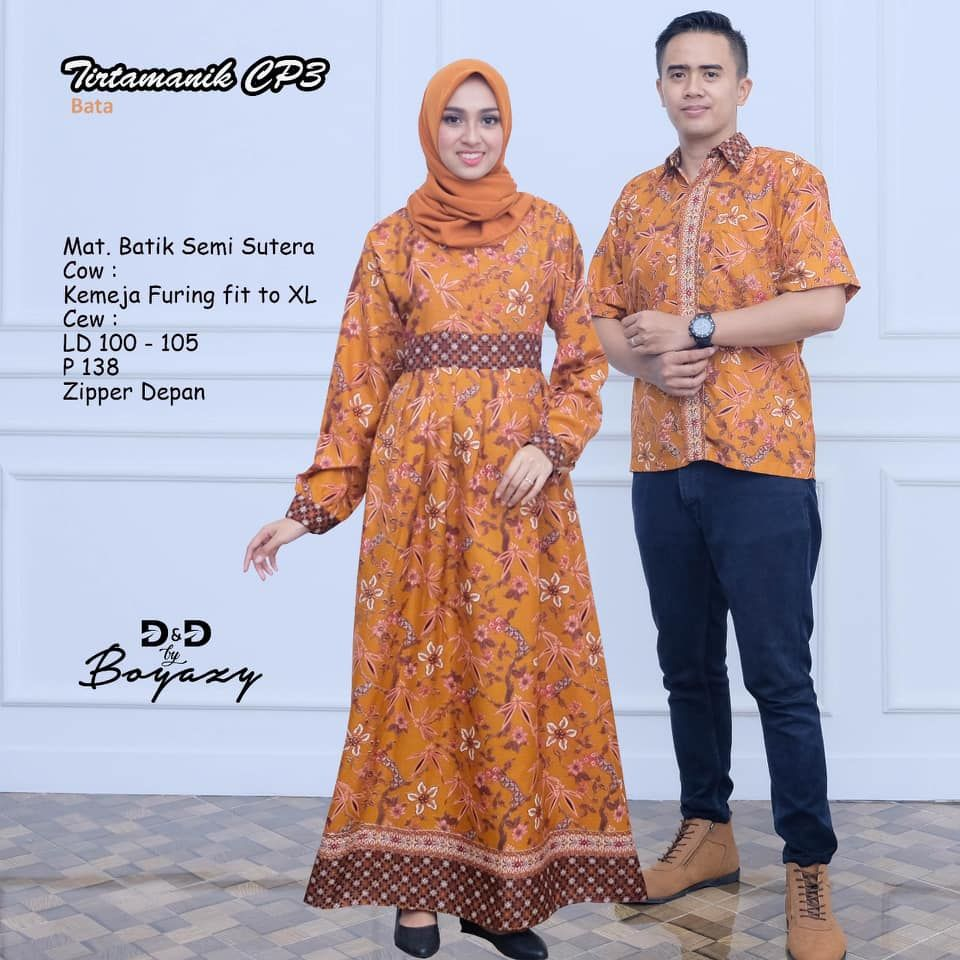 Model Baju Batik Kapelan Keluarga