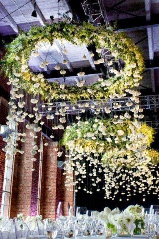 hula hoop ceiling decoration ideas for my wedding 3 19