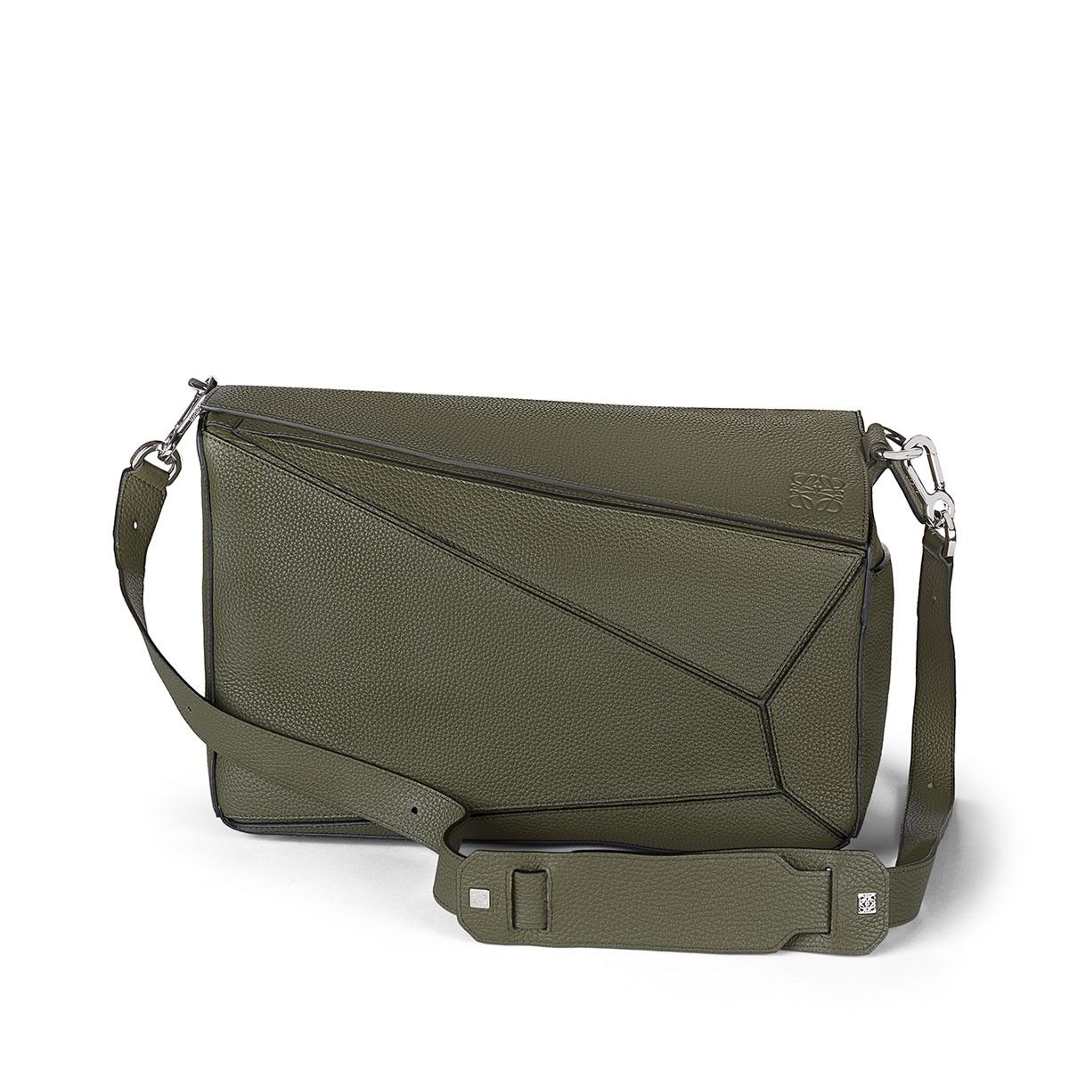 Loewe Bags - PUZZLE EXTRA LARGE BAG khaki green Discover Loewe Bags products…