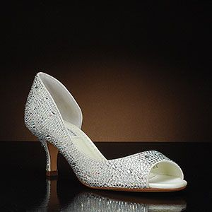 BENJAMIN ADAMS DIVINE Wedding Shoes and DIVINE Dyeable Bridal Shoes IVORY: