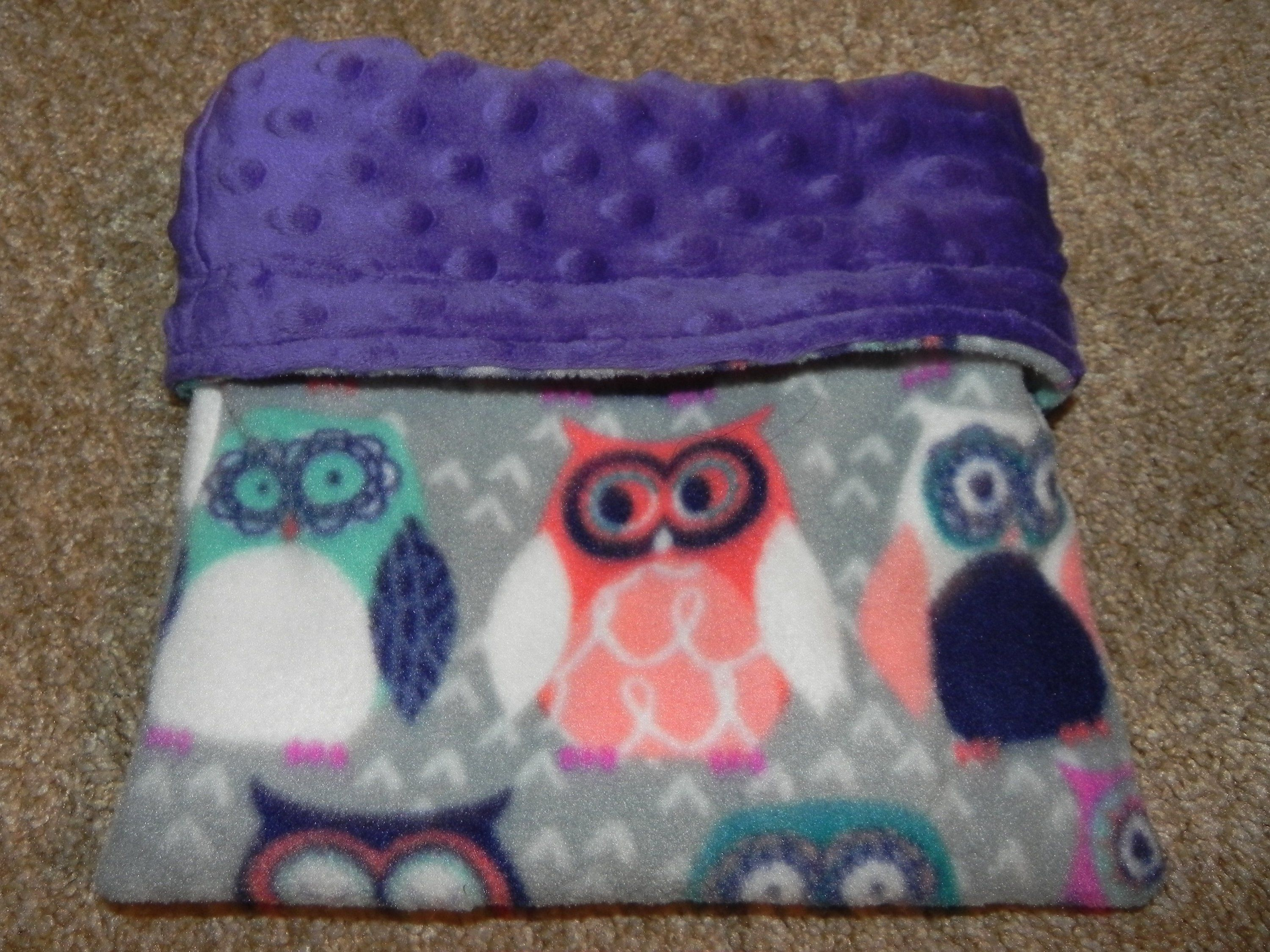 Pet snuggle sack sleep pouch reversible fleece pouch for your