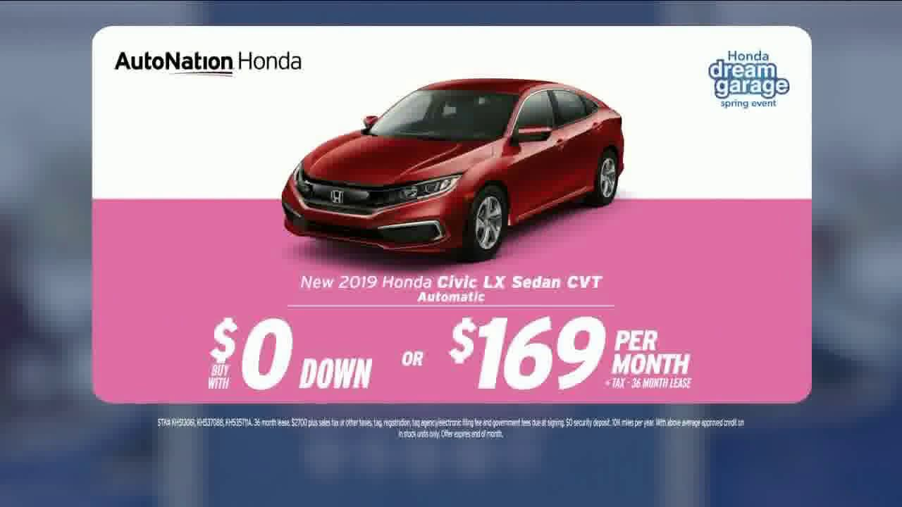Song In Honda Commercial >> Autonation Super Zero Event 2019 Honda Civic Lx Song By
