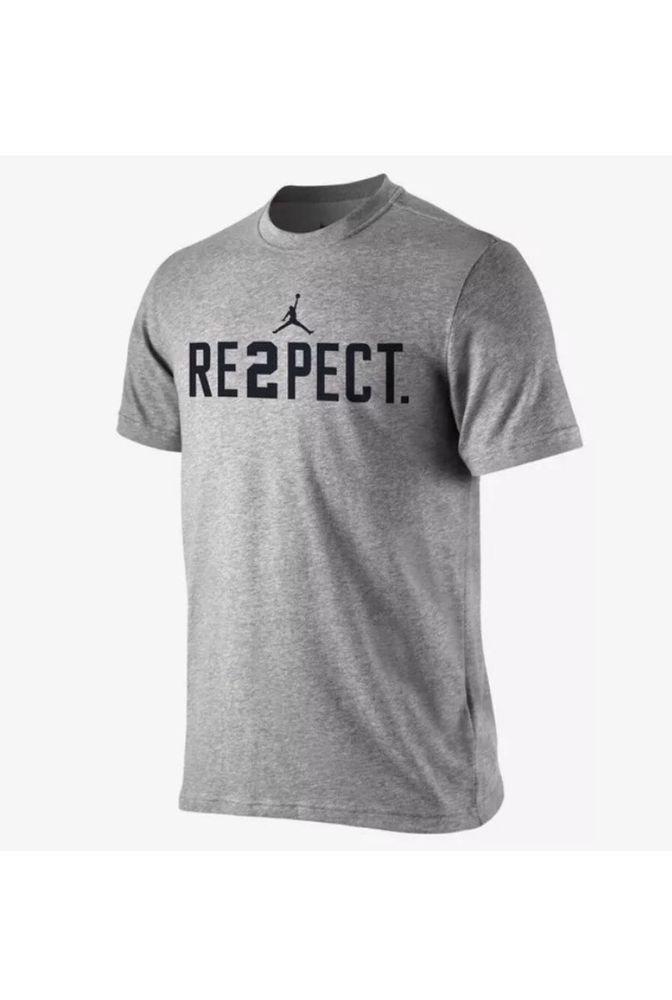 8745f1ef1d0b8d Nike Jordan RE2PECT Derek Jeter Yankees Gray T-Shirt Size XXL 708586 063  RESPECT  Jordan  GraphicTee