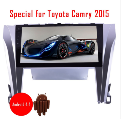 Android 4 4 10 2 Inch Touch Screen GPS Navigation System for Toyota