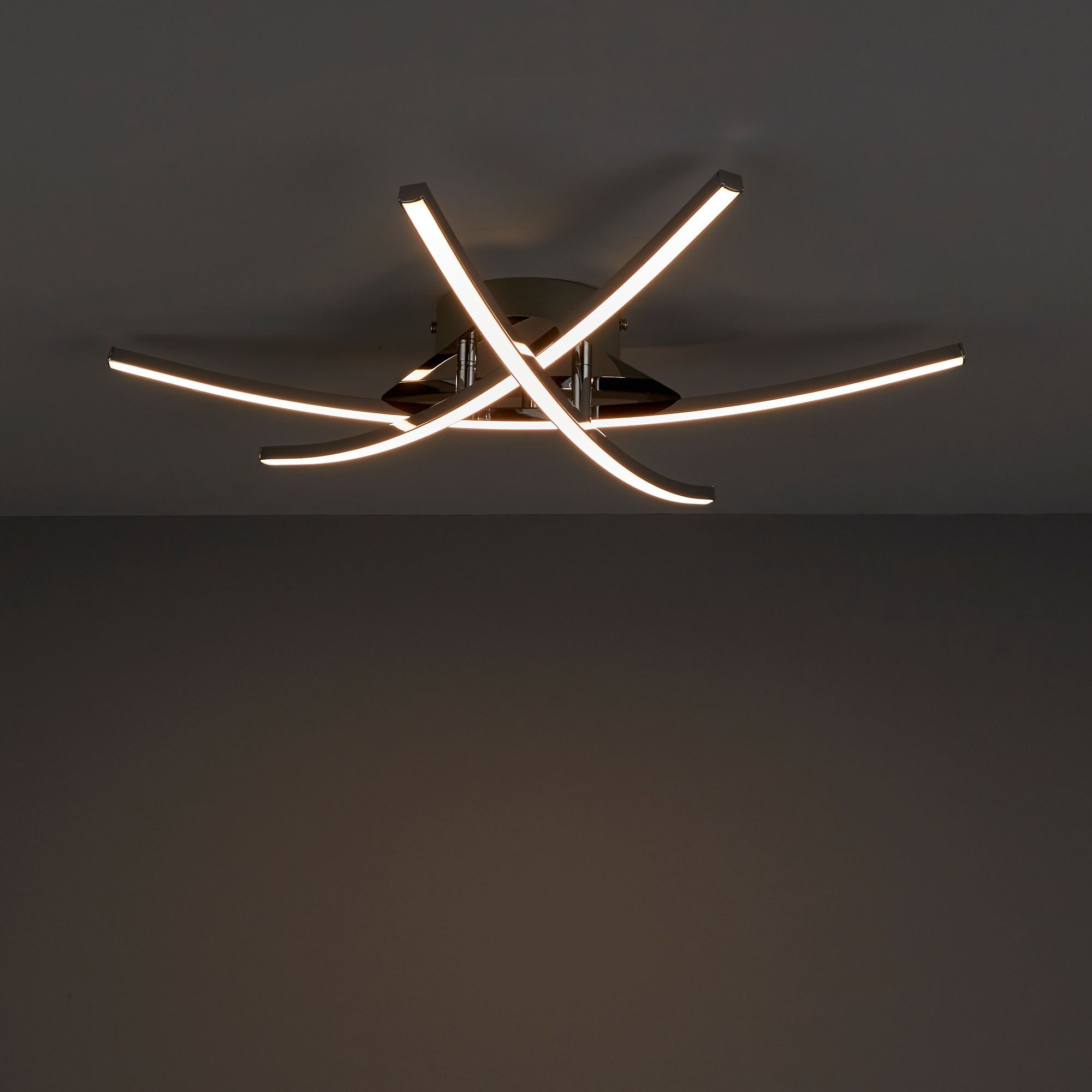Fantastic Alani Chrome Plated Ceiling Light Departments Diy At Bq Light Wiring Digital Resources Indicompassionincorg