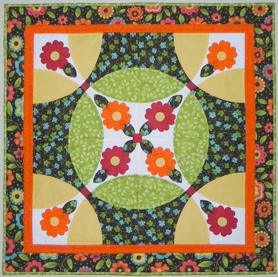 Samplings From A Blue Ribbon Girl: Flowering Snowball With A TwistAccuQuilt BOB Blog Hop