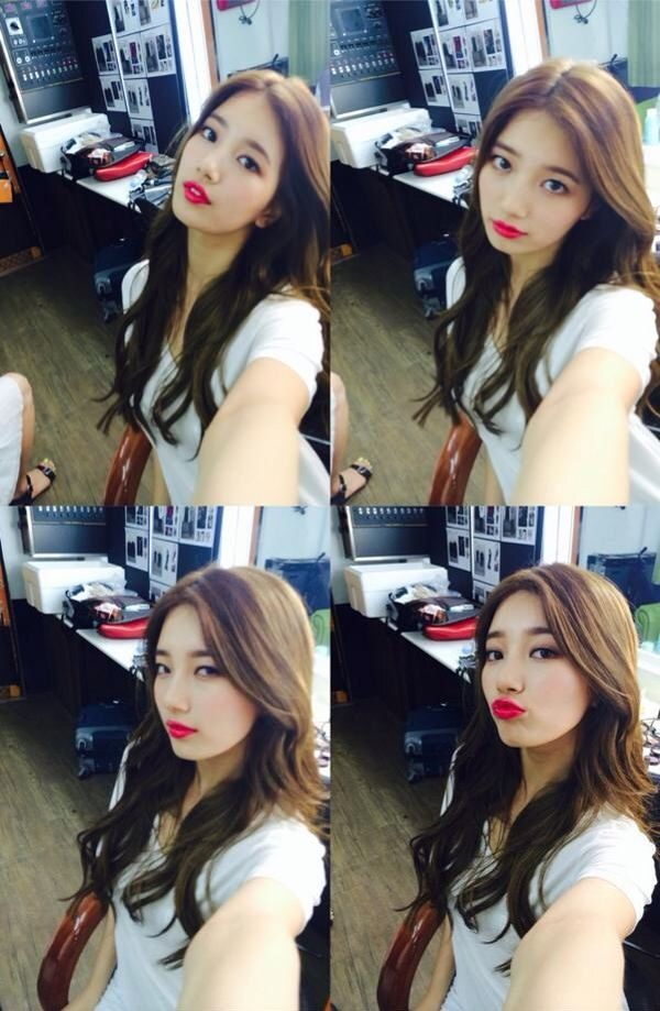 7 Super Adorable Selcas By The Cutest K Pop Idols Miss A Suzy Suzy Bae Suzy
