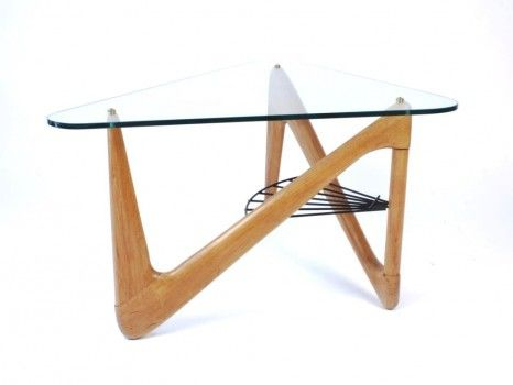 Louis Sognot France Circa 1950 Table Basse Design Table
