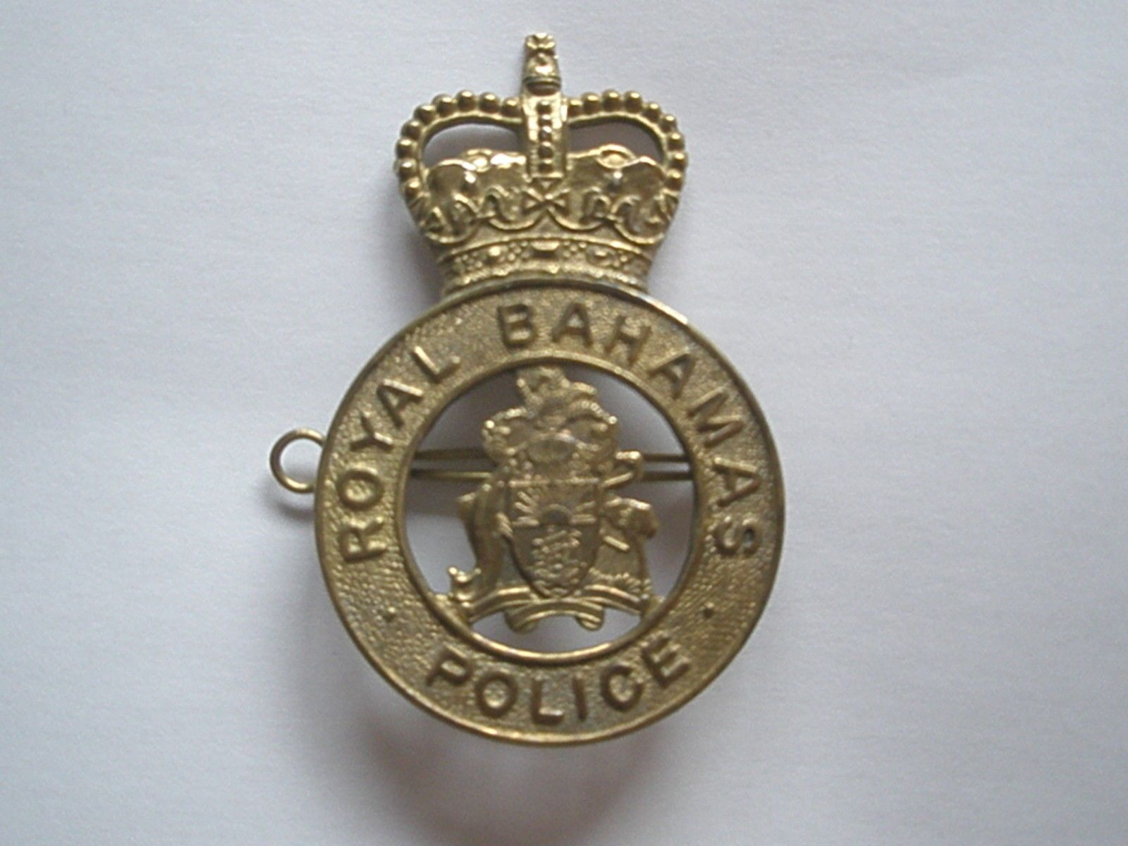 pendant bahamas police we no got badge royal badges pin pinterest