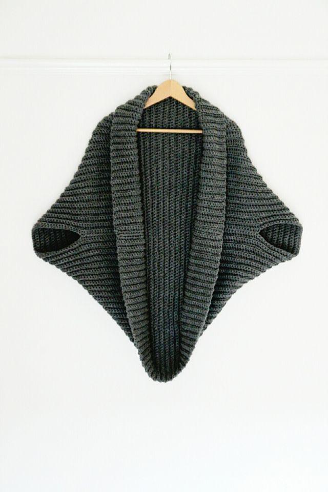 Crochet simple Cardigan // proyecto perfecto para principiantes ...