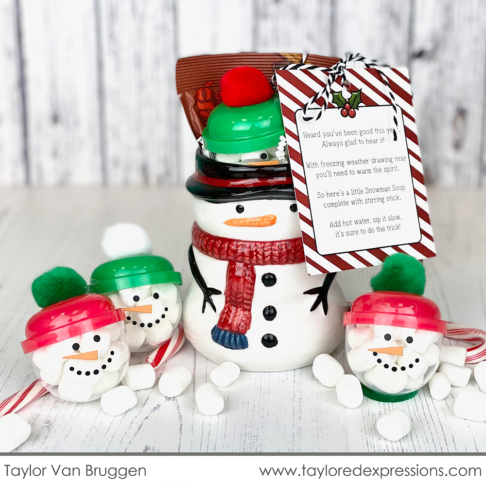 A Fun Holiday Gift – Snowman Soup