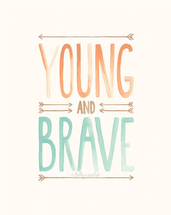 Young and Brave <<  This artwork is printed onto Archival Matte paper using an Epson Stylus Pro printer with UltraChrome K3 Pigment Inks -