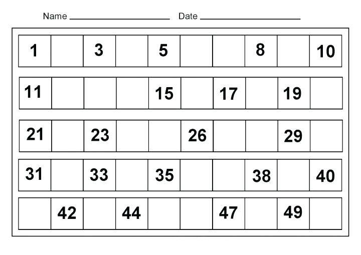 Kindergarten Worksheets Free Printable Math Worksheets