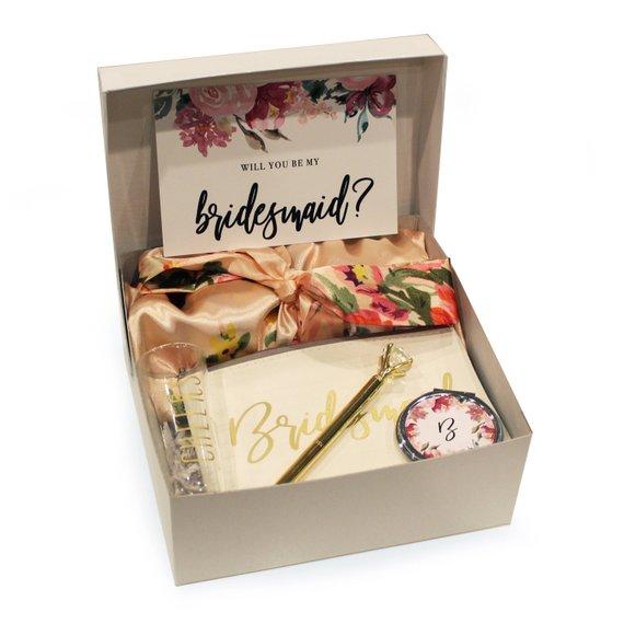 Bridesmaid Proposal Gift Box, Maid Of Honor Proposal Gift