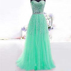 Women's Sexy Sleeveless Maxi Strapless Dress | LightInTheBox