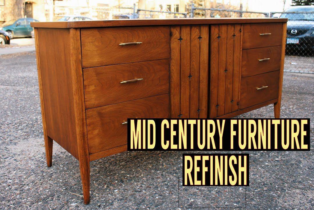 mid century wood dresser Mid Century Dresser Refinish | DIY | Pinterest | Dresser, Mid  mid century wood dresser
