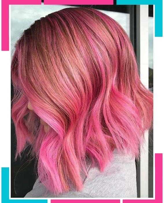 Schöne rosa Haarfarben - EinHaar   Tintes de pelo rosados