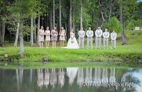 Hailey & Zachary {Married} | randipphotography #reflectionphoto #bridalpartyphoto #weddingphotography