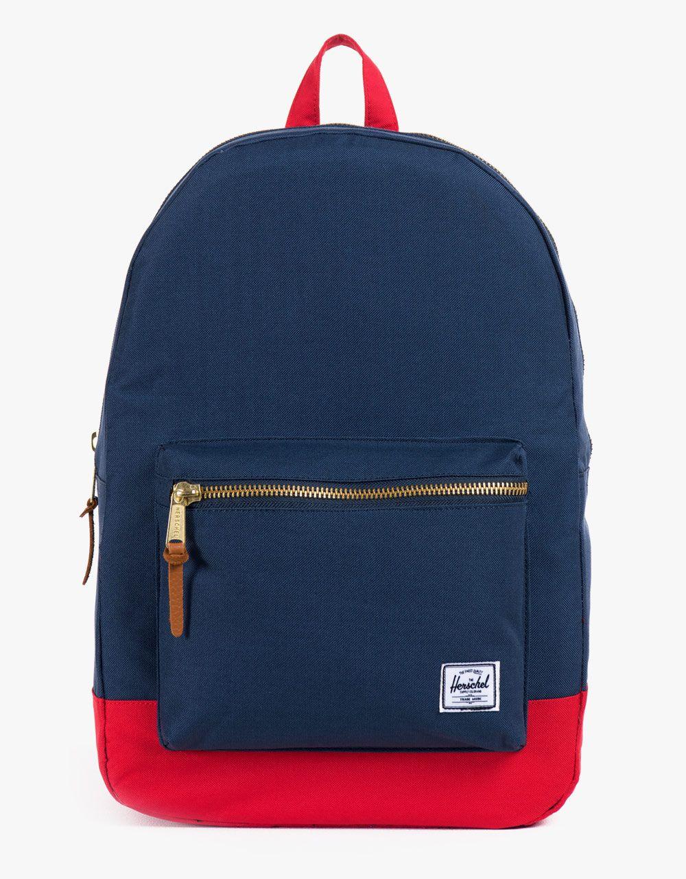 Herschel Supply Co. Settlement Backpack - Navy Red  6e0429e91bb4e