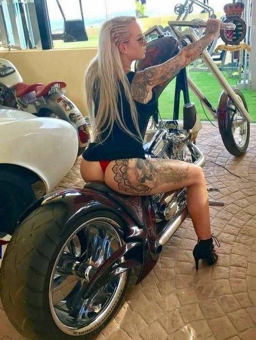 Let 39 s go koenigsegg pinterest bikers tattoo and girls for Biker chick tattoos